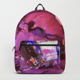 Tiny Planet: Times Square Backpack