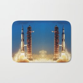 "Apollo Saturn V ""LIFTOFF"" 1967 Bath Mat"