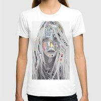 cara T-shirts featuring Cara by Katy Hirschfeld
