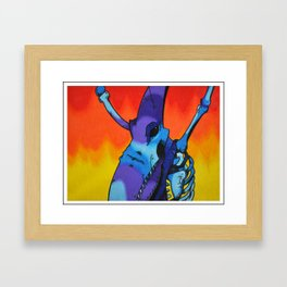 Dead Air Framed Art Print