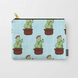 Cheery Cactus Carry-All Pouch