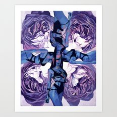 When the muse appears to you Art Print