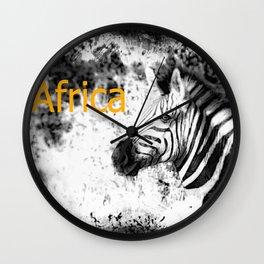 Africa II Wall Clock