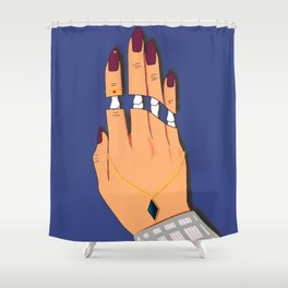 Deadly Touch Shower Curtain