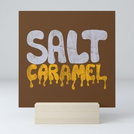 SALT CARAMEL Mini Art Print