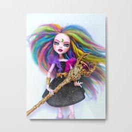 Summoner Rainbow Doll Metal Print