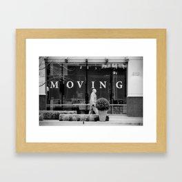Moving Framed Art Print