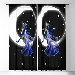 Goddess of the Moon Blackout Curtain