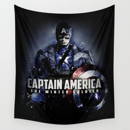 the captain Wall Tapestry
