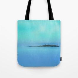 Island in the Sky Tote Bag
