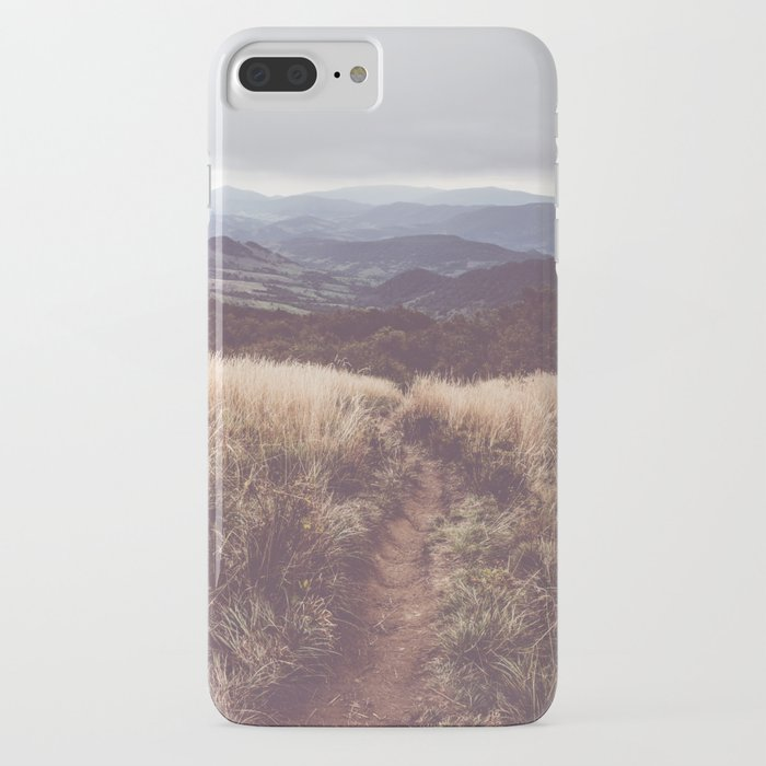 bieszczady mountains - landscape and nature photography iphone case