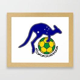 Australia Socceroos ~Group C~ Framed Art Print