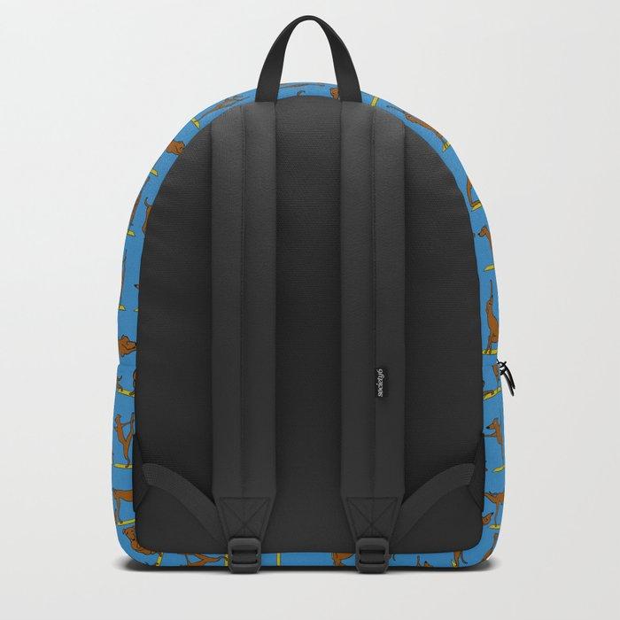 Greyhound Yoga Backpack