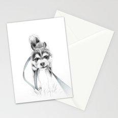Perseverance :: A Siberian Husky Stationery Cards