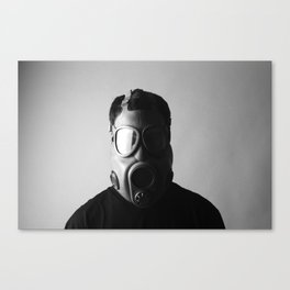 Czech M10M Gasmask Canvas Print