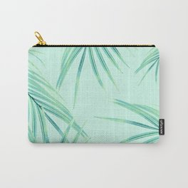 Summer Palm Leaves Dream #1 #tropical #decor #art #society6 Carry-All Pouch