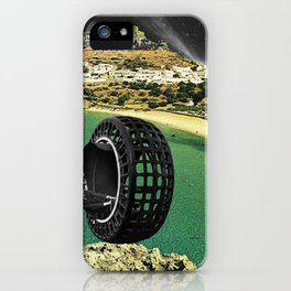 untitled collage no. 1 iPhone Case