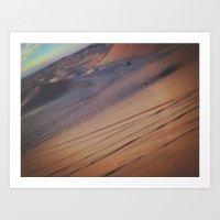 Dunes/ UAE Art Print