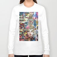 marie antoinette Long Sleeve T-shirts featuring Marie Antoinette by Katy Hirschfeld
