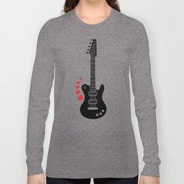 A Guitar for a Love Serenade Long Sleeve T-shirt