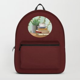 Tea and book love Backpack