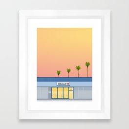 El Cochinito Storefront Framed Art Print