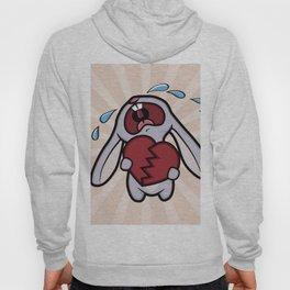 Broken Hearted Bunny Hoody