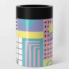 Memphis Pattern 27 - 80s - 90s Retro / 1st year anniversary design Can Cooler