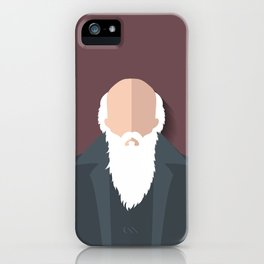 Charles Darwin iPhone Case
