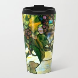 Louis Comfort Tiffany - Decorative stained glass 11. Travel Mug