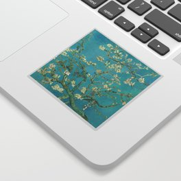 Van Gogh Almond Blossoms Painting Sticker