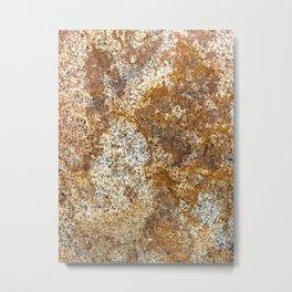 Sandstone Brown Metal Print