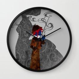 Consulting Detective Darkholme (Sherlock - Victorian - Steampunk - Mystique) Wall Clock