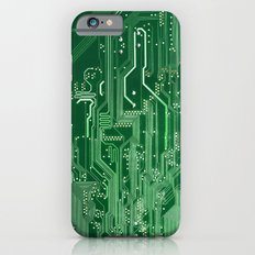 Electronic circuit board iPhone 6 Slim Case