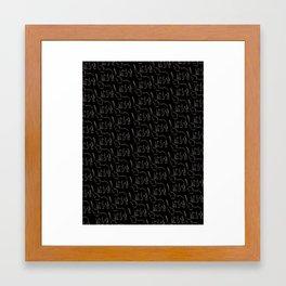 Elephrints Framed Art Print