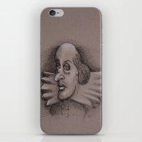 bill iPhone & iPod Skins featuring Bill by chadizms