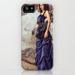 Gowns and Ammo M-16 iPhone Case