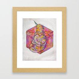 mother-s cube Framed Art Print