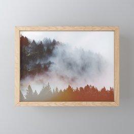 Strange things Framed Mini Art Print