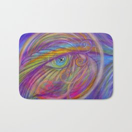 Guardian Angel with Feather Bath Mat