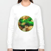 minerals Long Sleeve T-shirts featuring EMERALDS by Catspaws
