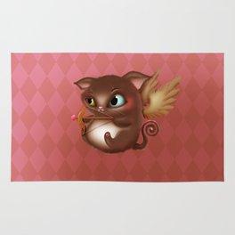 Cupid Kitty Rug