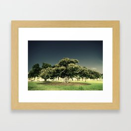 what the eyes don't see Framed Art Print