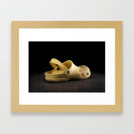 shoe 2 Framed Art Print
