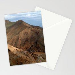 Descending from Khardung La Stationery Cards