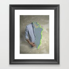 It's a problem because the couch is dry clean only.  Framed Art Print