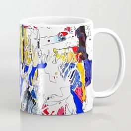 Fiesta Öl auf Leinwand Coffee Mug