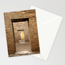 Chaco Canyon, March 2007 Stationery Cards