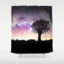 African galaxy skyline - Landscape Photography #Society6 Shower Curtain