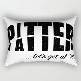 Pitter Patter Rectangular Pillow